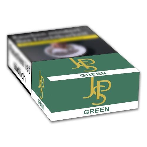 jps green menthol